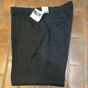 Blauer 8650 Dark Navy Uniform Pants Size 50 Reg. Unhemmed 4 Pockets NWT