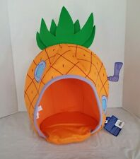 Build A Bear Sponge Bob Square Pants Pineapple House Orange Green  16""