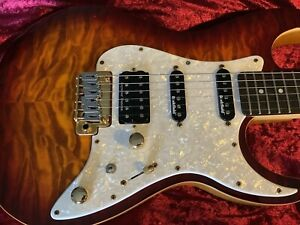 Michael Kelly 1967 Aged Cherryburst Guitar.