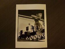 FOTOGRAFIA HERVE LUCIEN 17.8X12.8 CM voyage  Paris 1949 servizio giornalistico