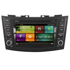 New In Dash Car DVD Head Unit Radio GPS Navi Wifi Sat for Suzuki Swift 2011-2015