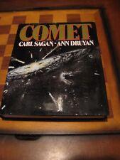 Comet-Carl Sagan- Ann Druyan-First Edition-1985-Fine Condition-Science-Astronomy