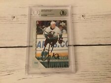 Corey Perry Autographed 05/06 Upper Deck Young Guns RC #204 Beckett BAS COA c