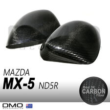 Mazda MX-5 Miata ND / RF 2015-on OKAMI Aero Carbon Fiber Side Mirror Cover MX5