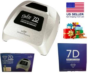 Gel II 7D DIAMOND Edition UV/LED Sans Lumière Rechargeable 36W Ongles Vernis