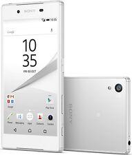 Unlocked Sony Ericsson Xperia Z5 E6653 32GB 32MP 4G LTE GPS Smartphone White