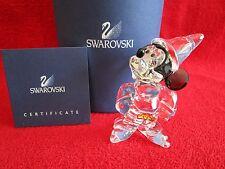 Swarovski Crystal Sorcerer Mickey Small Disney Mint Box COA Retired 955427