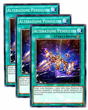 Set 3X ALTERAZIONE PENDULUM Shift SECE-IT065 Comune in Italiano YUGIOH