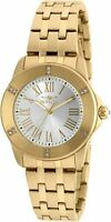 NEW Invicta 20371SYB Womens Specialty Angel Silver Dial 18K Gold Plated SS Watch