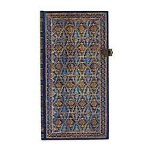 "Paperblanks Journal ""Blue Rhine"" LINED Slim 3½ x 7"