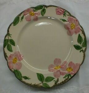 "Vintage Franciscan Desert Rose Dinner Plate - 10.5 "" Early Mark USA"