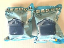 Lake Industries Alkaline Water Pitcher Filter Cartridges Lot Of 2 New