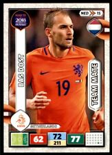 Panini Road to 2018  Adrenalyn XL - Bas Dost Netherlands  No. NED15
