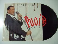 "Fiorello – Puoi (Remix) - Disco Mix 12"" 45 Giri Vinile ITALIA 1993 Italodance"