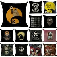 The Nightmare Before ChristmasThrowPillowCase Cushion Cover  Halloween Home