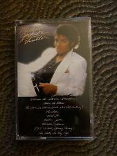 Michael Jackson Thriller Cassette