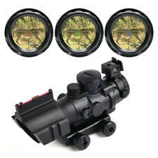 4x32 Tactical Rifle Scope Red & Green &Blue illuminated Reticle Scope