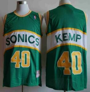 Shawn Kemp SONICS #40 Jersey