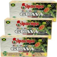 Sipacupa Ital Jamaican Guava Leaf Tea Bags 24 X 3 boxes