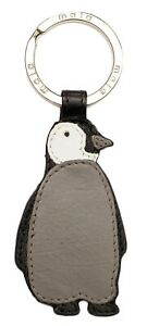 Penguin Leather keyring ladies by Mala Leather 906 3 ollie penguins gift
