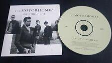 The Motorhomes – Into The Night CD Single Promo
