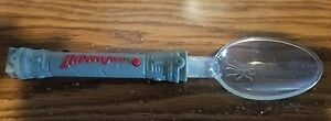 Indiana Jones Red Lighted Spoon - Kellogg's Cereal Promotion