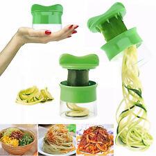 Kitchen Vegetable Spiral Slicer Fruit Cutter Peeler Spiralizer Twister Tool Cool