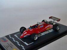 "1:43 BBR Ferrari 126 C2 ""GP San Marino"" nº 27 Gilles Villeneuve 1982 MEGA RARE"