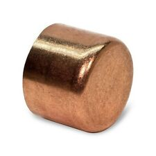 """2"""" Copper Cap CxC End Cap For Pipes & Tubes - Elkhart - Bag of 5 Pieces"""