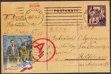 JUDAICA - ISRAEL Sc # 1968 MAXIMUM CARD III 70th ANN WARSAW GHETTO UPRISING