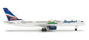 Herpa 524186  Yakutia Boeing 757-200 Yakutia Children of Asia 1:500 Scale New