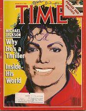 Time Magazine March 19, 1984 Michael Jackson