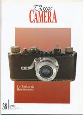 Classic Camera N.38 Aprile 2001 rivista in italiano collezionismo fotografico
