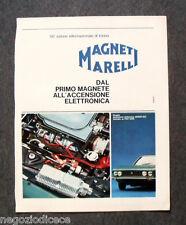 N430 - Advertising Pubblicità - 1968 - MAGNETI MARELLI , ACCENSIONE ELETTRONICA