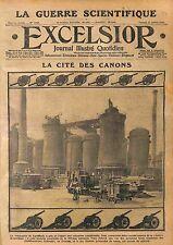 Fabrication Artillerie Obus Usines Schneider Le Creusot Saône-et-Loire WWI 1915