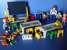 (L193) playmobil salle de classe ref 3084 5314 4324