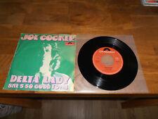 "Joe Cocker   Single 7""     Delta Lady + She`s So Good To Me    60er"