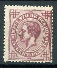 SPAIN 1876, 5 CTS VALUE (PROOF). MNH**