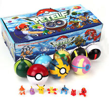2.8'' 8Pcs Pokeball Ball set Pokemon GO Action Figures Christmas Toy Gift