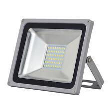 FOCO PROYECTOR LED SMD 50W -ESPAÑA-Exterior Focos Lámpara  Pared Luz Reflector