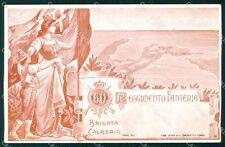 Militari Reggimentali 60º Reggimento Fanteria Brigata Calabria cartolina XF5157
