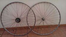lote 2 ruedas bicicleta zeus 700 BSC  zeus 2000m oferta autenticas, coleccion