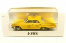 CHEVROLET BISCAYNE 1963 NYC TAXI YELLOW KESS KE43027012 1/43 NEW YORK CITY RESIN