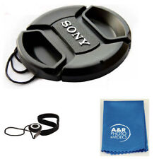49mm Snap On Lens Cap For  Sony Cover E 55-210mm 18-55mm DSC-RX1R II RX1 50mm