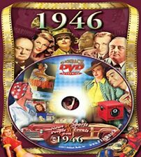 1946 DVD Greeting Card by Flickback: 72nd Birthday, Anniversary, Reunion Gift