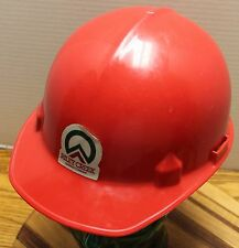 Jackson Riley Creek Lumber Company Idaho Hard Hat Red In Very Good Condition