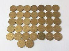 Série complète de 37 Pièces de 20 cent. Marianne bronze alu 1962 à 1998 TTB