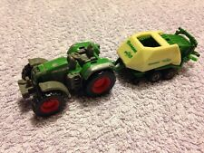 Siku 0858 Fendt Favorit 926 Vario Tractor and Siku 1628 Krone Baler Scale 1:72