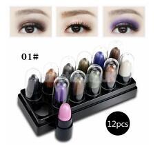 12x Party Makeup Waterproof Highlight Eyeshadow Stick Pearl Shadow Base Pen