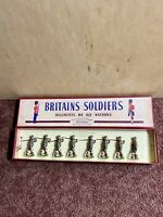 W Britains Soldiers The Cape Town Highlanders #1901 Pre-Owned